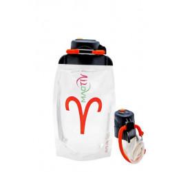 Складная эко бутылка Vitdam B050TRS-1002 прозрачная 500 мл