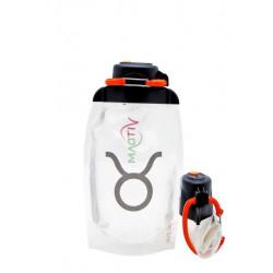 Складная эко бутылка Vitdam B050TRS-1005 прозрачная 500 мл