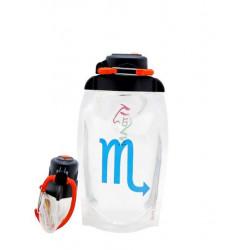 Складная эко бутылка Vitdam B050TRS-1012 прозрачная 500 мл
