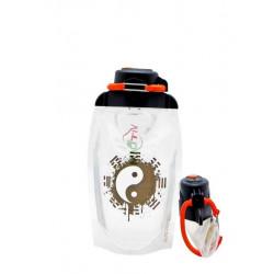 Складная эко бутылка Vitdam B050TRS-604 прозрачная 500 мл