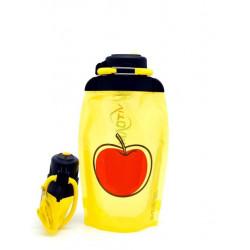 Складная эко бутылка Vitdam B050YES-615 желтая 500 мл