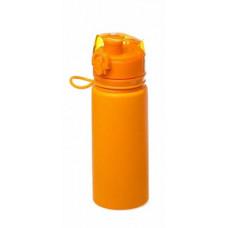 Бутылка силиконовая Tramp TRC-093 оранжевая 500 мл
