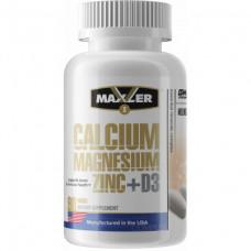 Maxler Calcium Zinc Magnesium+D3 90 таблеток