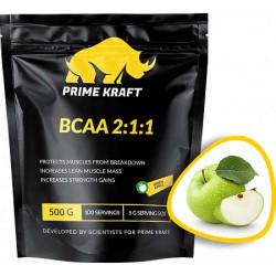 Prime Kraft BCAA 500 г, Зеленое яблоко