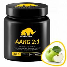Prime Kraft AAKG 2:1 200 г, Зеленое яблоко