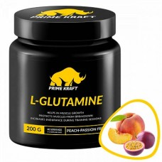 Prime Kraft L-Glutamine 200 г, Персик - Маракуя