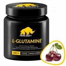 Prime Kraft L-Glutamine 200 г, Дикая вишня