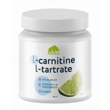 Prime Kraft L-Carnitine L-Tartrate, 200 г, Лайм