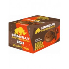 Prime Kraft Протеиновое печенье Primebar, двойной шоколад 8 шт. х 55 г