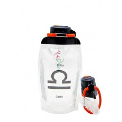 Складная бутылка Vitdam B050TRS-1208 прозрачная 500 мл
