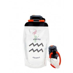Складная бутылка Vitdam B050TRS-1209 прозрачная 500 мл