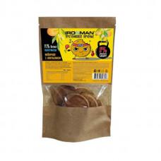 Протеиновое печенье IronMan Имбирное с апельсином 80 г, 4 шт.