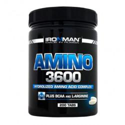 Аминокислотный комплекс IRONMAN Amino 3600, 200 таблеток