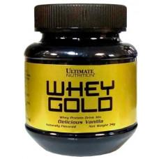 Сывороточный протеин Ultimate Nutrition Whey Gold 34 г, ваниль