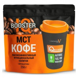 Энергетик IQ Booster MCT Coffee Irish Cream 250 г