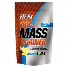 Гейнер FIT-Rx 100% Mass Gainer 900 г Ваниль