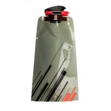 Силиконовая складная бутылка-мешок для воды Verona Aquatic, 700 мл, черная