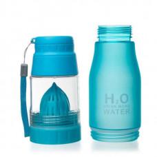 Бутылка Verona H2O 650 мл синяя