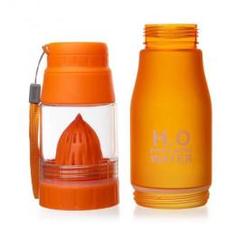 Бутылка Verona H2O 650 мл оранжевая