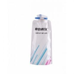 Складная спортивная бутылка Romix RH45 700 мл белая