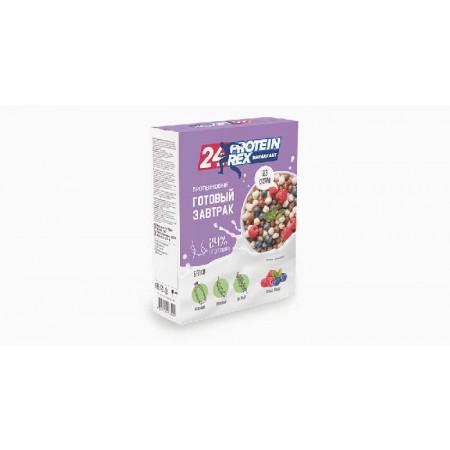 Готовый завтрак с высоким содержанием протеина ProteinRex BREAKFAST лесные ягоды