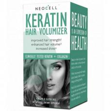 Витаминно-минеральный комплекс Neocell Keratin Hair Volumizer 60 капсул