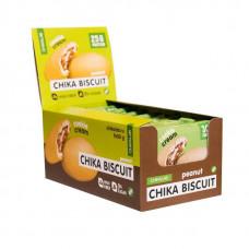 Протеиновое печенье Bombbar Chikalab Chika Biscuit 9 шт. по 50 г арахис