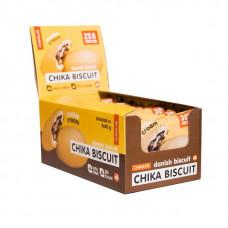 Протеиновое печенье Bombbar Chikalab Chika Biscuit 9 шт. по 50 г датский бисквит