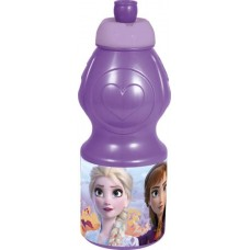 Бутылка пластиковая Stor - спортивная, фигурная, 400 мл. Холодное сердце 2, 35032