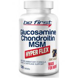 Glucosamine Chondroitine + MSM Hyper Flex Be First 120 таблеток без вкуса
