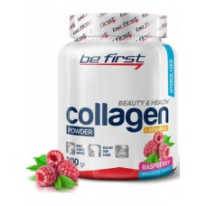 Collagen + Vitamin C Be First 200 г малина