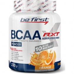 Be First BCAA RXT powder 230g - 230 г, Апельсин