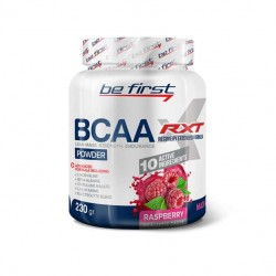 Be First BCAA RXT powder 230g - 230 г, Малина