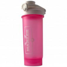 Maxler Шейкер Pro 700ml - 700 мл, Белый-Розовый