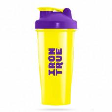 IRONTRUE Шейкер ITS901 700ml, Фиолетовый -Желтый