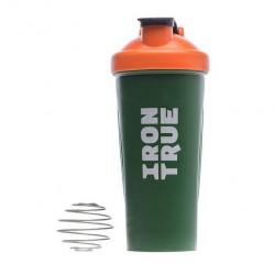 IRONTRUE Шейкер ITS901 700ml, Оранжевый-Зеленый