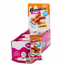 Протеиновые конфеты арахис, кунжут, финик 30% Bombbbar - 18 г.- 20 шт.