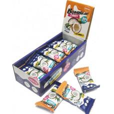 Протеиновые конфеты кокос, кешью, финик 30% Bombbbar - 18 г.- 20 шт.