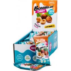 Протеиновые конфеты лен, фундук, финик 30% Bombbbar - 18 г.- 20 шт.
