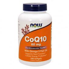 Now CoQ10 60 + Омега 3 240 капсул