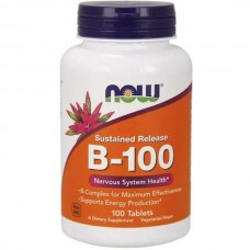 Комплекс витаминов группы B NOW B-100 Complex 100 таблеток