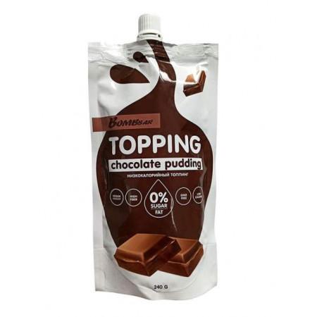 Низкокалорийный соус Bombbar Сладкий Топпинг 240 г шоколадный пудинг