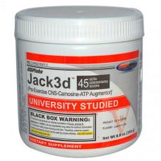 Предтренировочный комплекс USPlabs Jack3d 250 г ананс-клубника