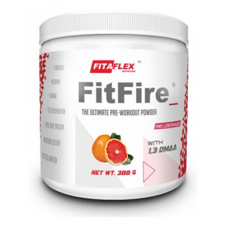 Предтренировочный комплекс FitaFlex FitFire 388 г розовый лимонад