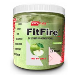 Предтренировочный комплекс FitaFlex FitFire 388 г зеленое яблоко