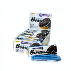 Батончик Bombbar Natural Bar 20 60 г, 20 шт., печенье с кремом