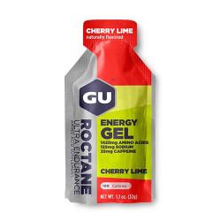 Углеводный гель GU Roctane Energy 35 32 г, вишня/лайм