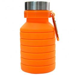 Бутылка Atlanterra AT-SILBOT-04 0.47 л оранжевая
