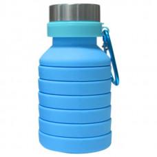 Бутылка Atlanterra AT-SILBOT-01 0.47 л голубая