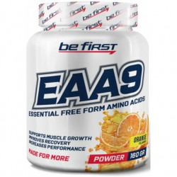 Be First BCAA EAA9 160 г апельсин